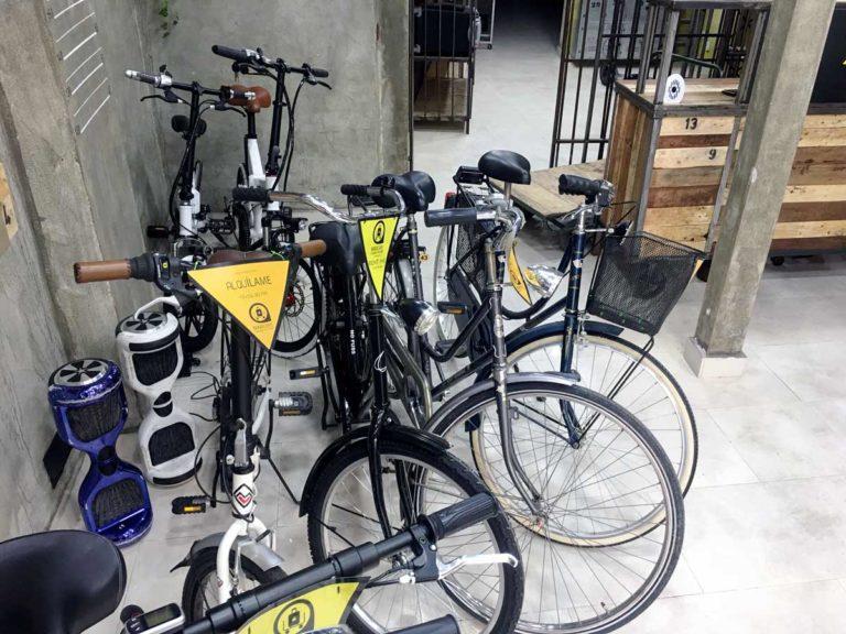 Alquiler bicicletas malaga centro