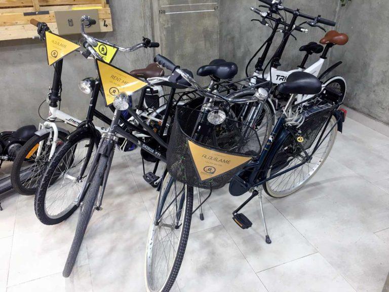 alquiler bicicleta bagscare